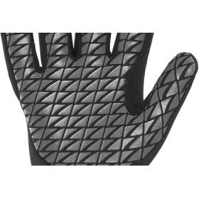 Zone3 Neoprene Zwemhandschoenen, black/reflective silver